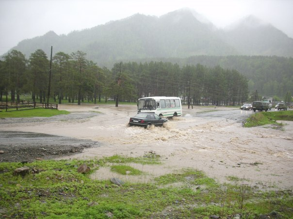 Катунь, наводнение 2014