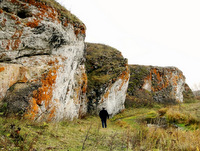 Скалы реки Сухарыш