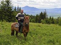 Ялангас, конный поход