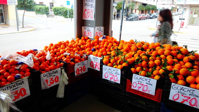 король испанских фруктов - апельсин
