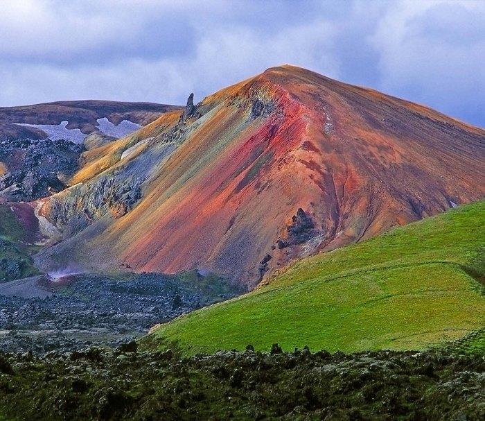 Исландия, природный заповедник Ландманналойгар