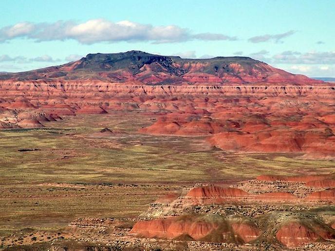 Гранд Каньон, США - Цветная пустыня