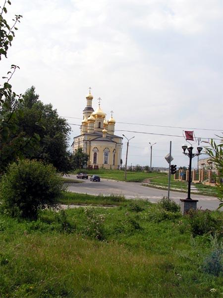 Кыштым.Храм Святого Николая Чудотворца