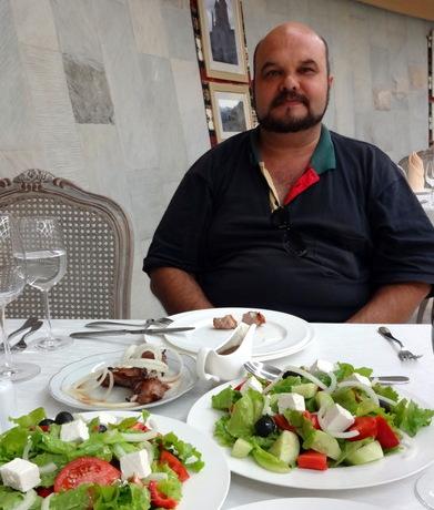 порции в ресторане Саперави, Кахетия