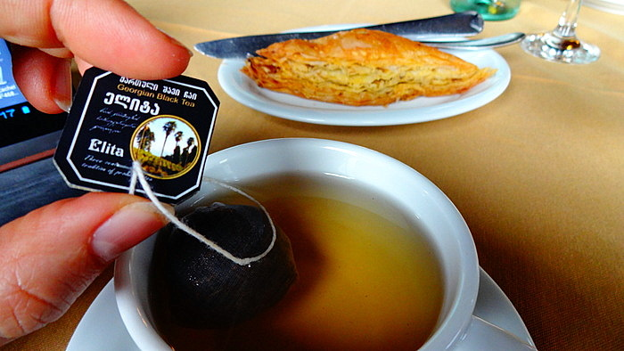 настоящий грузинский чай