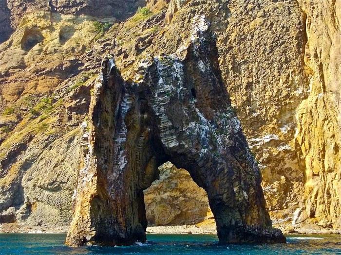 Золотые ворота с моря