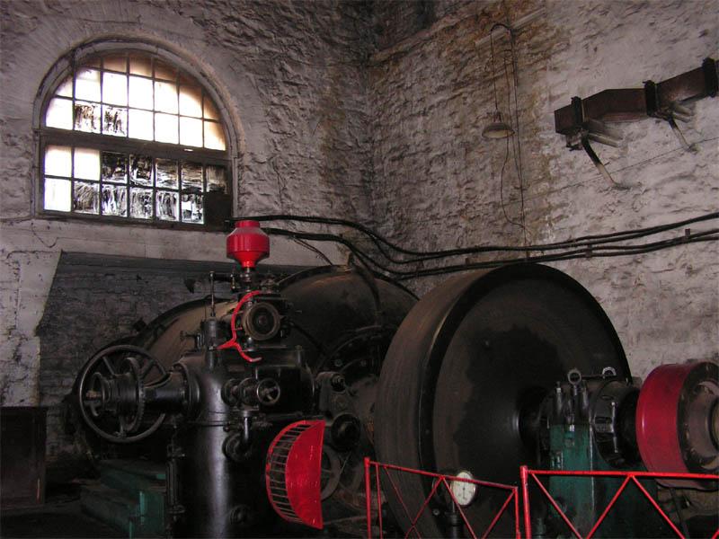 Электростанция Пороги, машинный зал