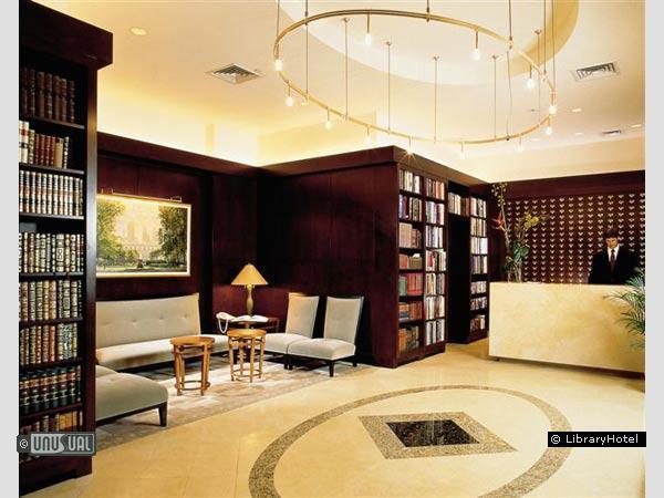 Отель для любителей книг «Library Hotel»