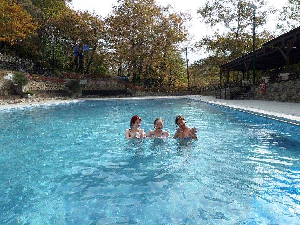релаксация в бассейне