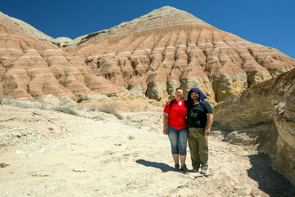 Актау- цветные горы
