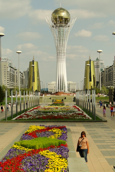 Астана, башня Байтерек