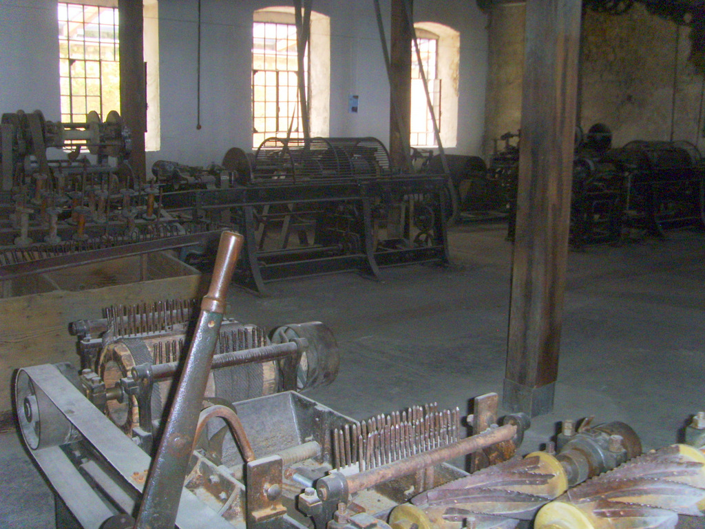 на старой канатной фабрике