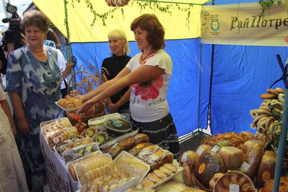 Пряничный фестиваль в Шадринске