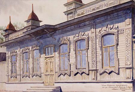Дом богатого горожанина по ул. Исетской