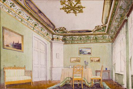 Комната в доме Архипова
