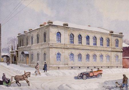 Торговая школа по ул. Исетской