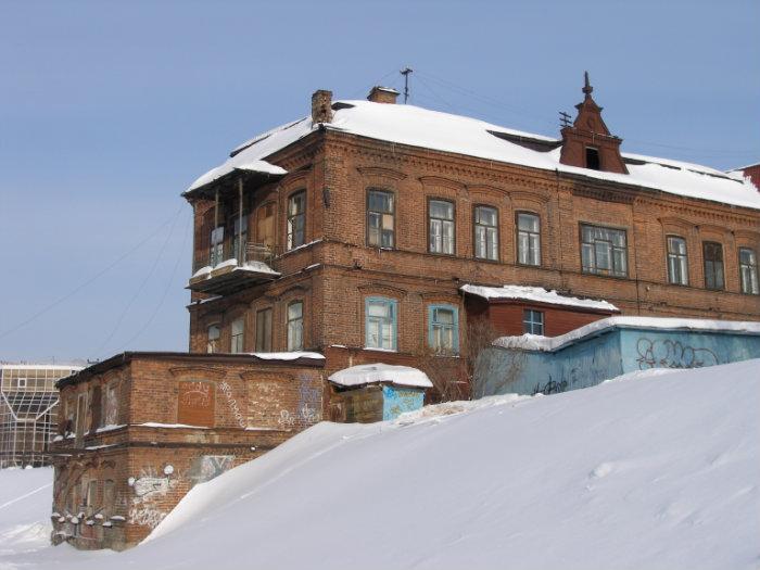 Косой дом, Екатеринбург.