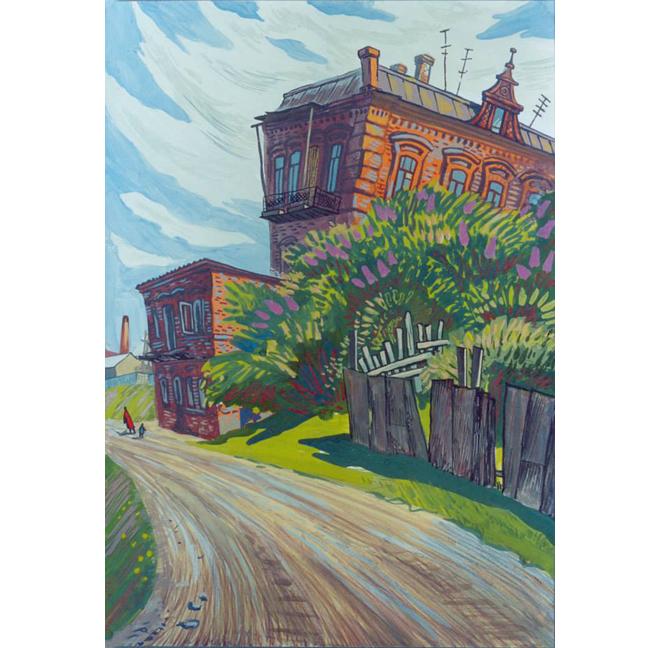 Алексей Рыжков, Дом-ступенька, 2000