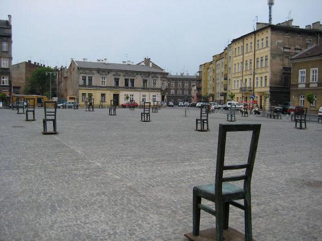 Мемориал памяти евреям, Краков