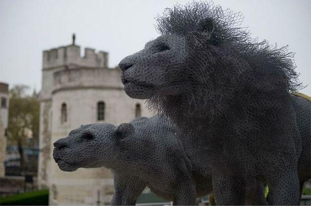 Львы, Лондонский Тауэр