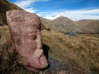 Каменные лица долины Сно