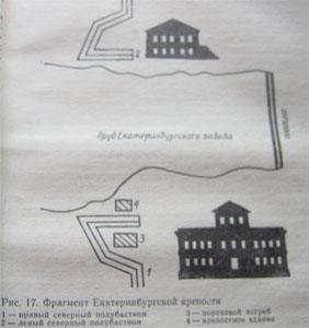 Фрагмент Екатеринбургской крепости