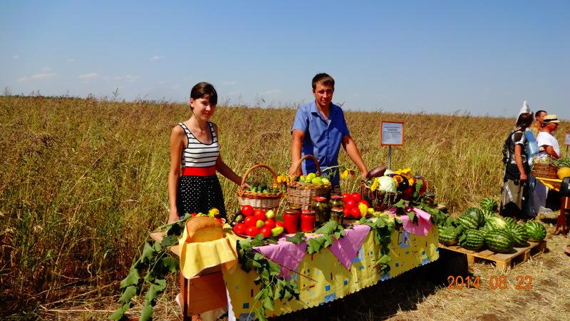 Семья фермеров Тыщенко