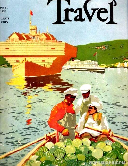 Советские плакаты интурист  туризм, путешествия, отдых