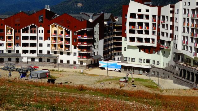Сочи 2014 Олимпийская деревня