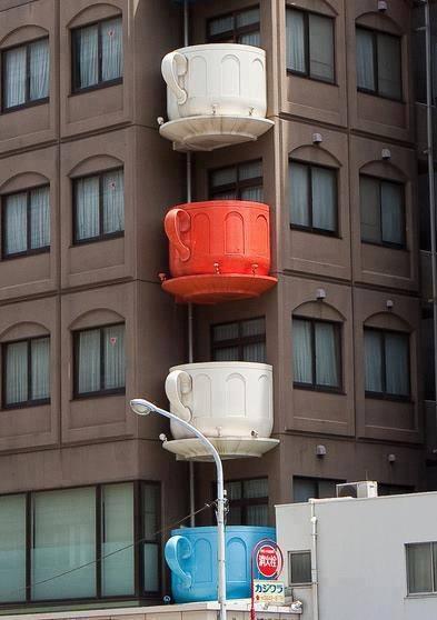 Балкон в виде чашки