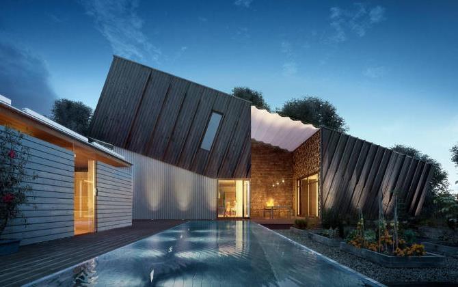 Дом с отрицательным потреблением энергии