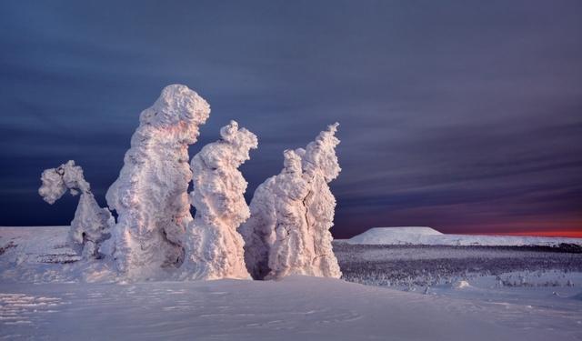 Северный Урал. Декабрь 2011 г.