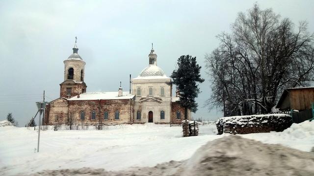 Храм Рождества Пресвятой Богородицы в Краснополье