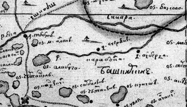 Фрагмент карты