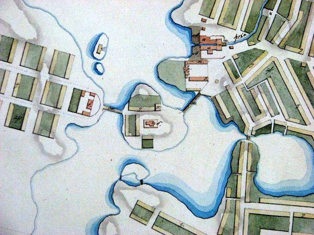 Фрагмент плана завода