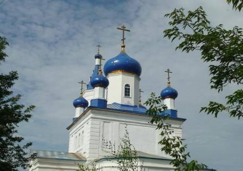 Казанская церковь в поселке Полтавский Великопетровской станицы