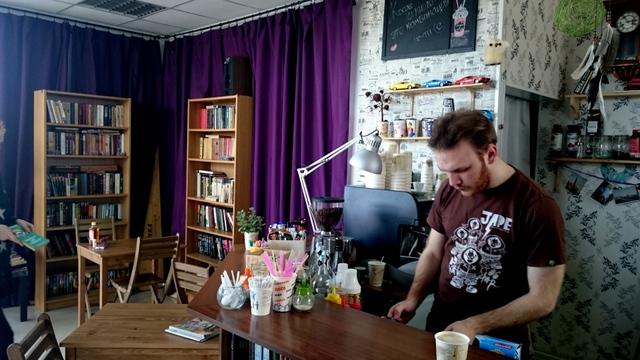 Арт-кафе «Кофе и книги» Челябинск