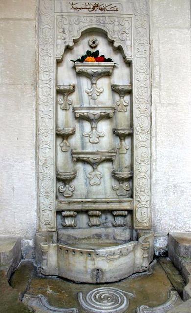 бахчисарайский фонтан или фонтан слёз