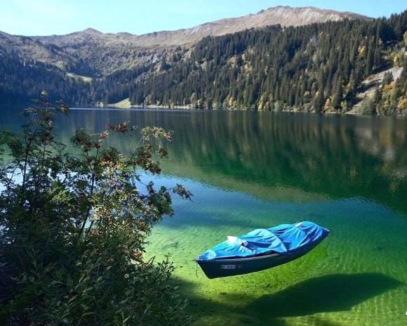 Озеро Königssee, Бавария, Германия