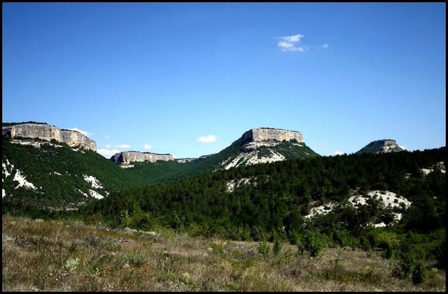 Скалы Качинской долины