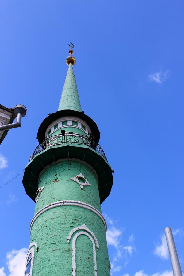 Минарет Султановской мечети