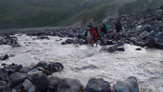 Преодоление реки вброд