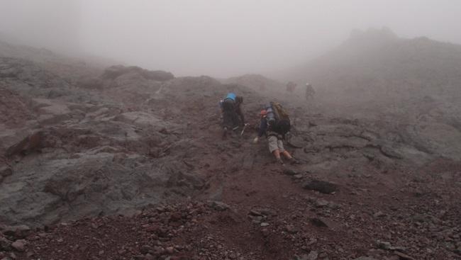 Преодоление скального участка