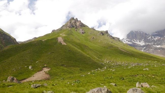 Путь спуска с пер Вероника
