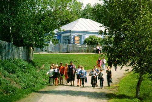 Дом-музей матери В.М. Шукшина