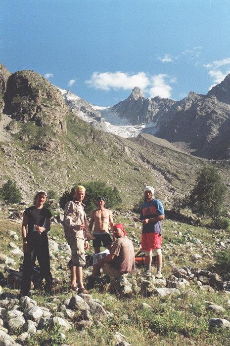 Перевал Чат от реки Башиляузусу
