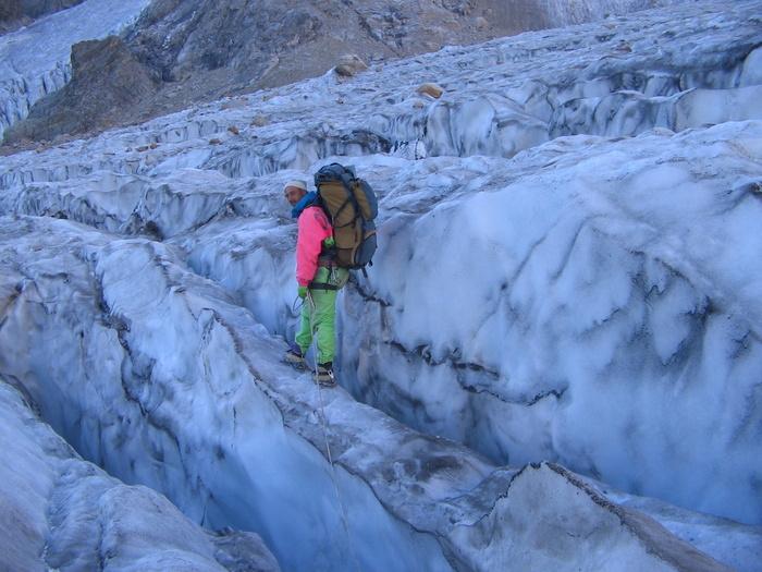 Прохождение первой части ледопада