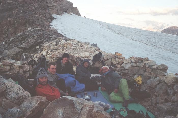 Ночёвки на перевале Чат