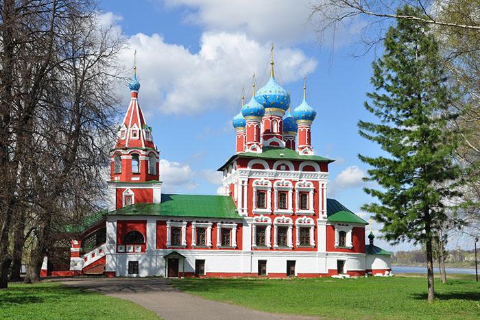 Углич. церковь царевича Дмитрия