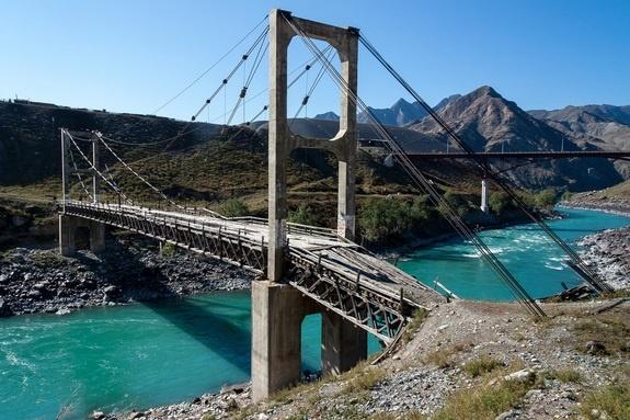 Ининский висячий мост